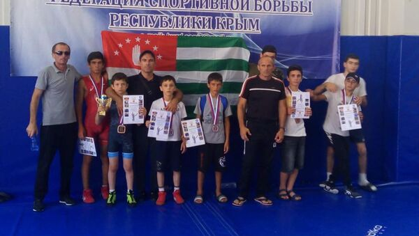 Борцы из Абхазии - Sputnik Аҧсны