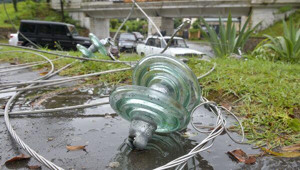 Ликвидация последствий шторма в Сухуме  - Sputnik Абхазия