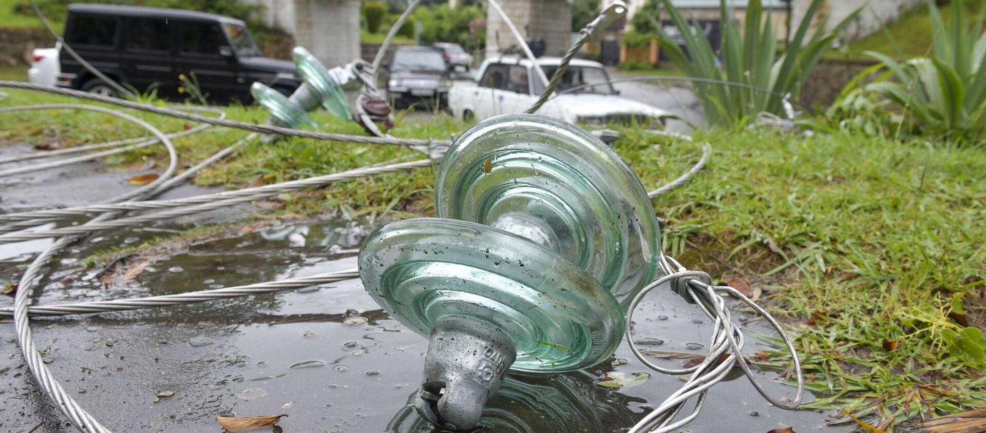 Ликвидация последствий шторма в Сухуме  - Sputnik Абхазия, 1920, 26.07.2021