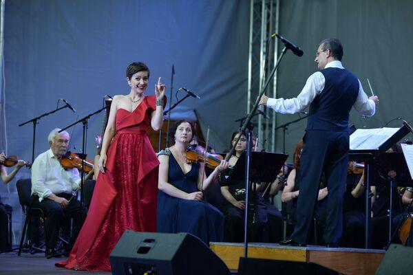 Фестиваль Opera Viva прошел на набережной Сухума  - Sputnik Аҧсны