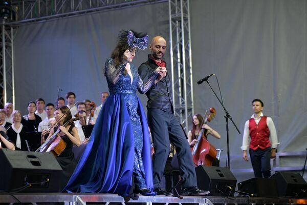 Фестиваль Opera Viva на набережной Сухума  - Sputnik Аҧсны