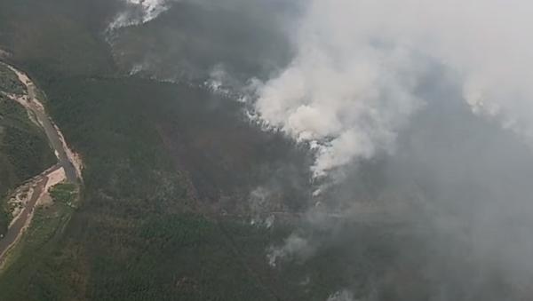 Тушение пожаров в Якутии авиацией ВКС России - Sputnik Абхазия