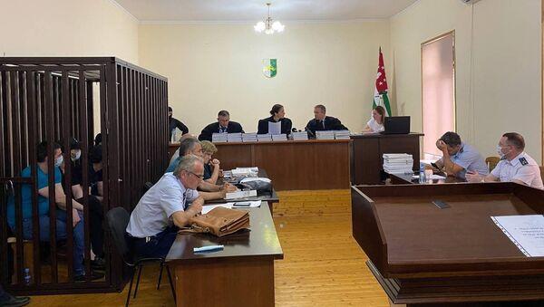 Верховного суда по делу о тройном убийстве на набережной Махаджиров  - Sputnik Абхазия