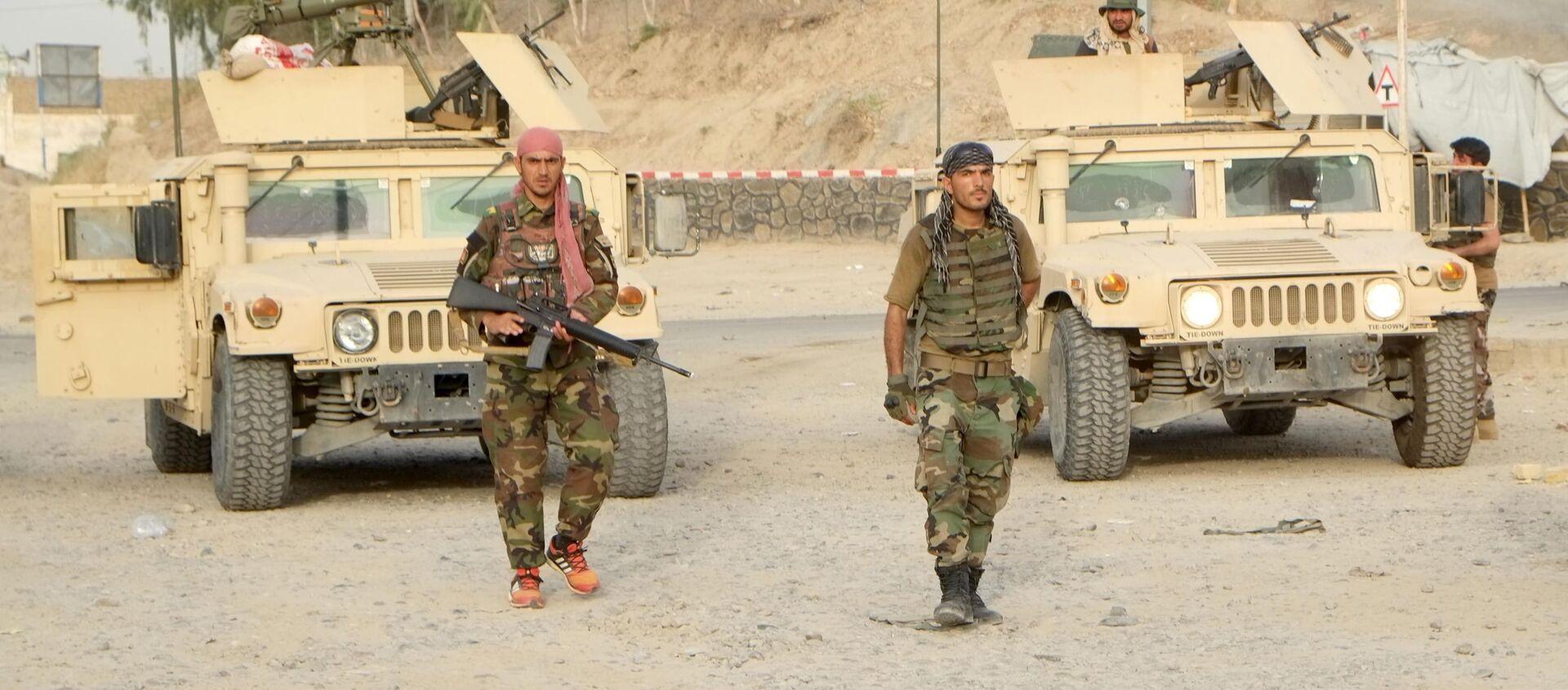 Военная операция в Кандагаре / Контрольно-пропускной пункт в Кабуле - Sputnik Абхазия, 1920, 23.07.2021
