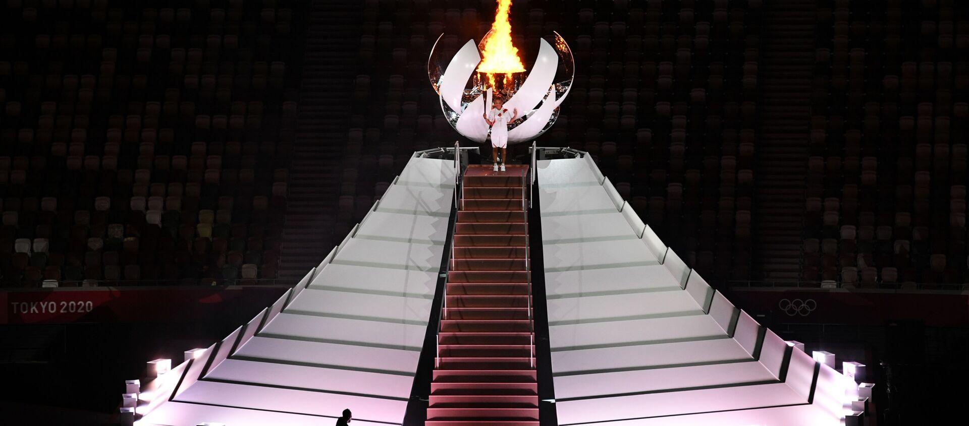 Церемония открытия XXXII летних Олимпийских игр - Sputnik Абхазия, 1920, 24.07.2021