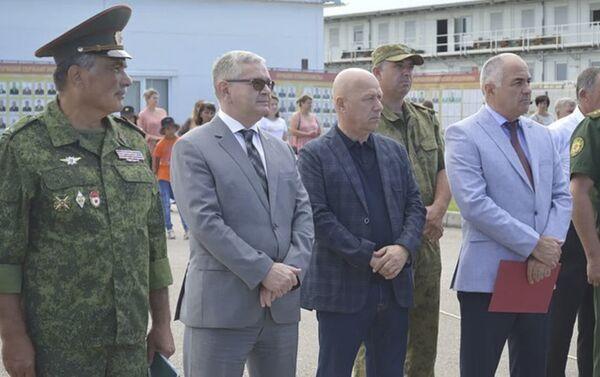 Седьмая военная база Минобороны России в Абхазии отметила 103-ю годовщину - Sputnik Абхазия