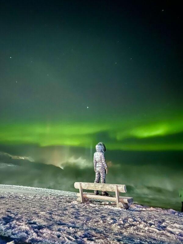 Снимок Magic of Aurora Borealis фотографа из России Tatiana Merzlyakova, занявший 1-е место в номинации Travel конкурса IPPAWARDS 2021 - Sputnik Абхазия