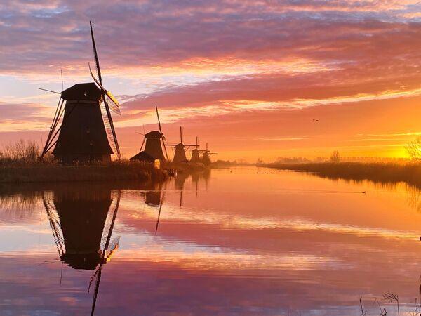 Снимок Dutch morning фотографа из Нидерландов Claire Droppert, занявший 1-е место в номинации Sunset конкурса IPPAWARDS 2021 - Sputnik Абхазия