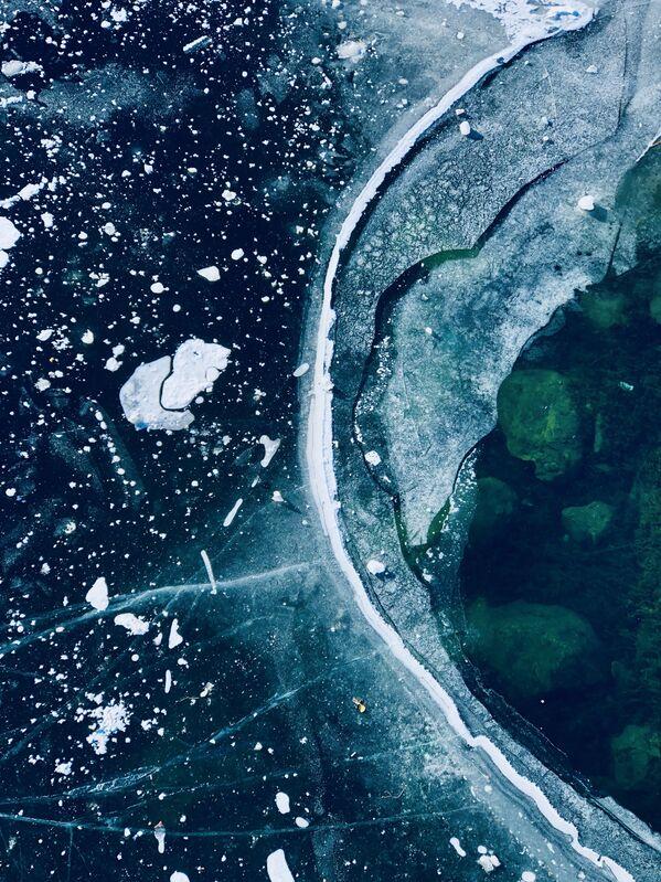 Снимок Frozen lines фотографа из Италии Matteo Lava, занявший 3-е место в номинации Abstraction конкурса IPPAWARDS 2021 - Sputnik Абхазия