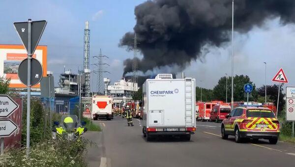 Взрыв на мусоросжигательном заводе в Германии - Sputnik Абхазия