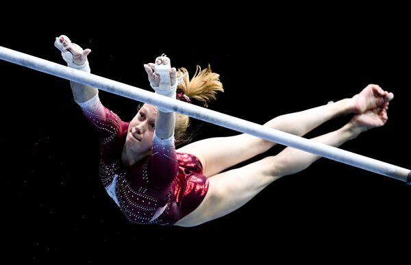 Российская гимнастка Виктория Листунова - Sputnik Абхазия