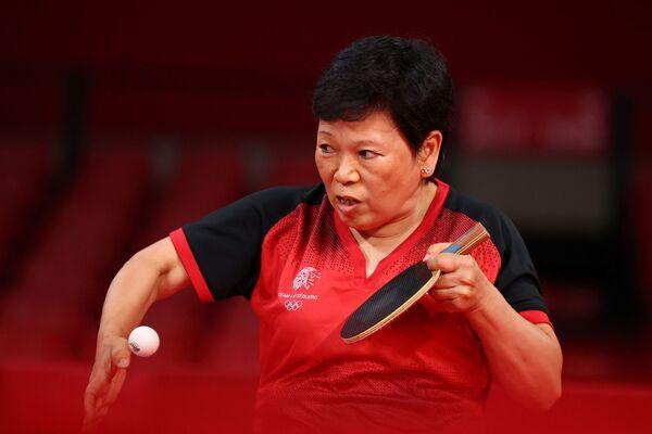 Китайская спортсменка, выступающая за Люксембург, игрок в настольный теннис Ни Сялянь - Sputnik Абхазия