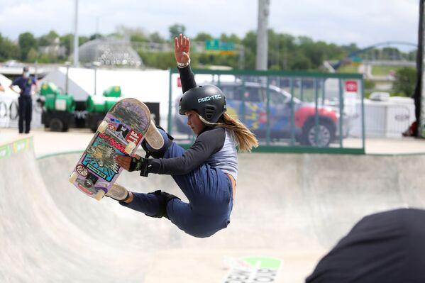 Британская скейтбордистка Скай Браун - Sputnik Абхазия