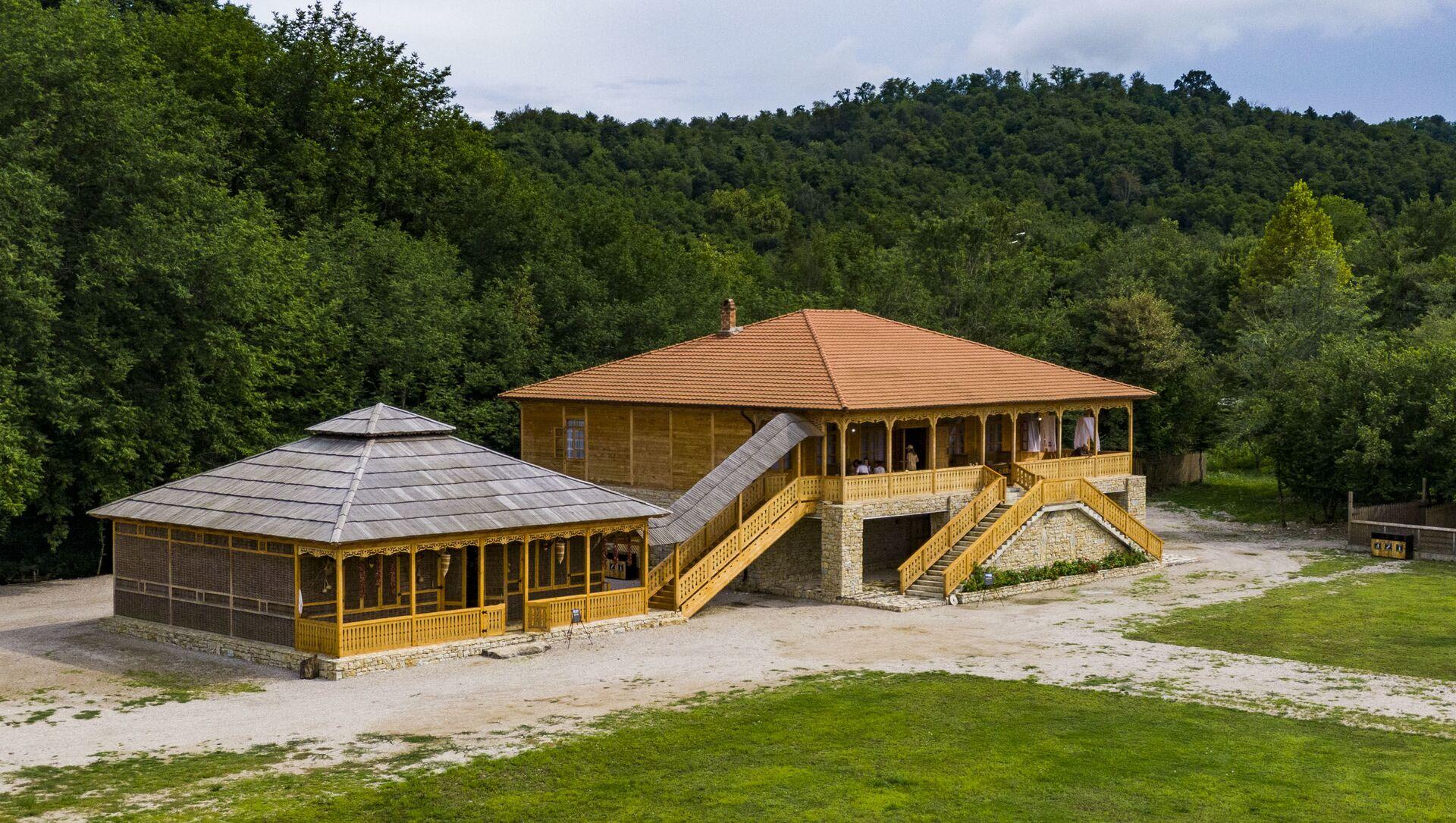 Этнопарк в селе Мгудзырхуа - Sputnik Абхазия, 1920, 27.07.2021