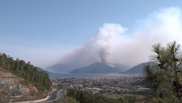 Восемь погибших и признание в поджогах: главное о лесных пожарах в Турции - Sputnik Абхазия