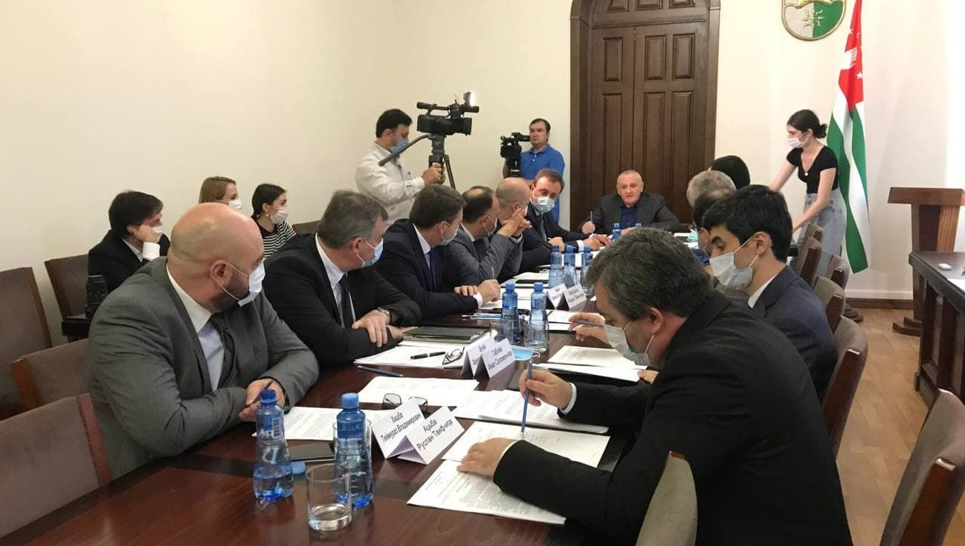 Заседание в Кабмине  - Sputnik Абхазия, 1920, 05.08.2021