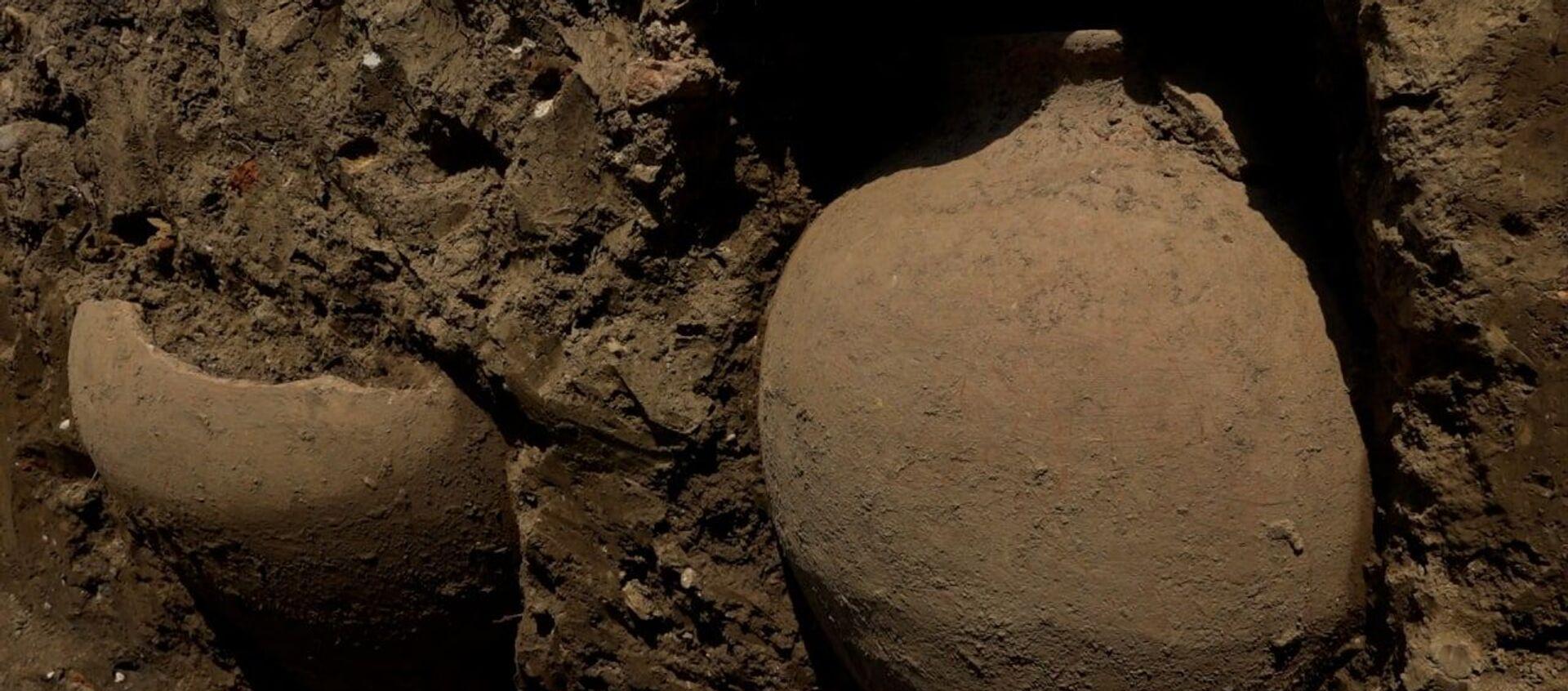 Раскопать историю: древние находки археологической экспедиции в Меркуле - Sputnik Абхазия, 1920, 08.08.2021