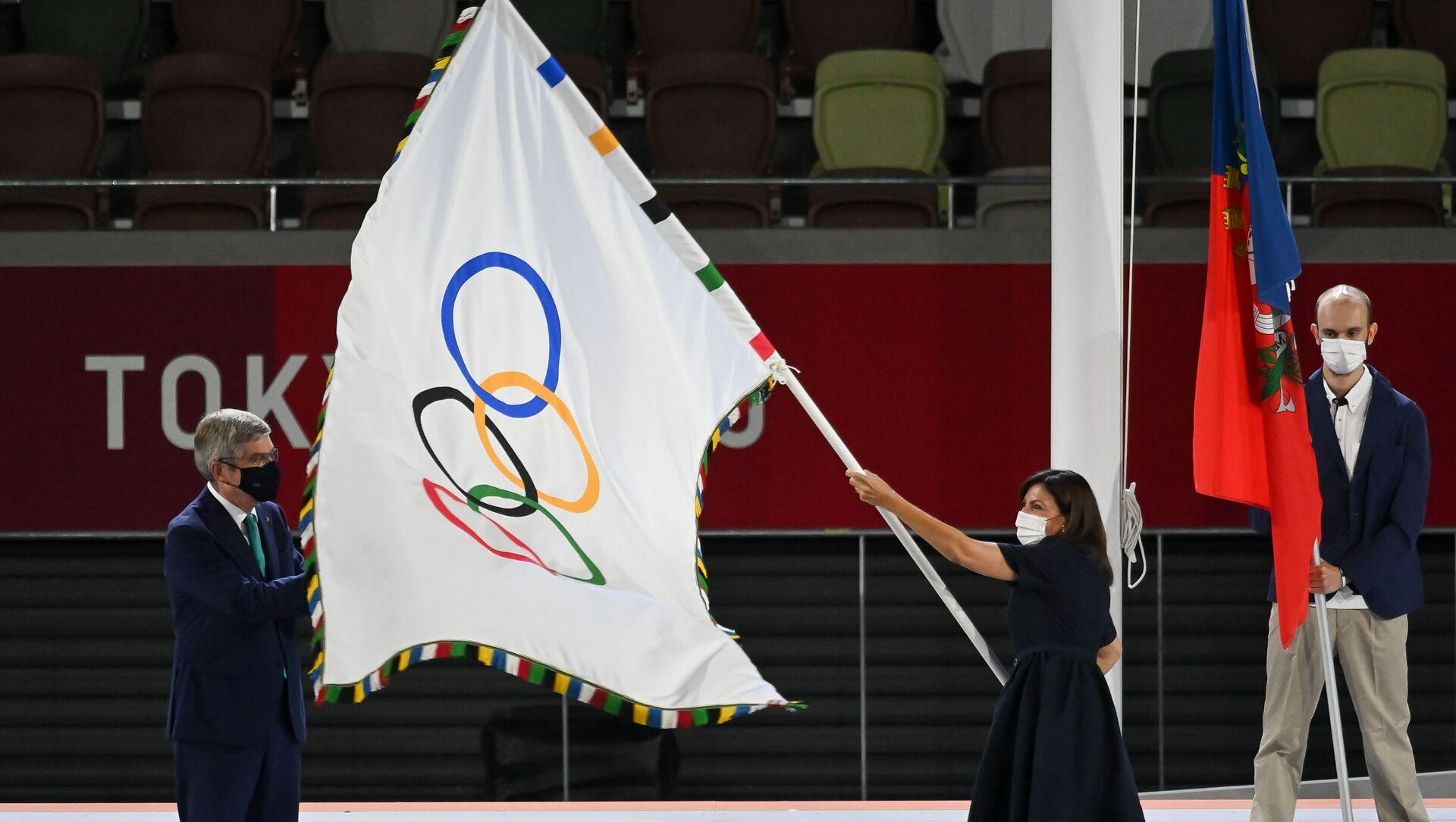 Церемония закрытия XXXII летних Олимпийских игр в Токио - Sputnik Абхазия, 1920, 08.08.2021