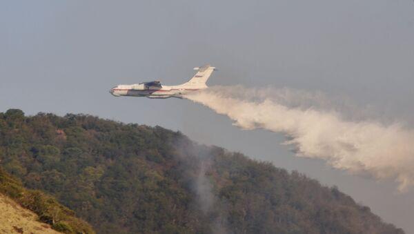 Лесные пожары в Краснодарском крае - Sputnik Аҧсны