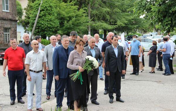 Мероприятие по случаю Дня добровольца. - Sputnik Абхазия
