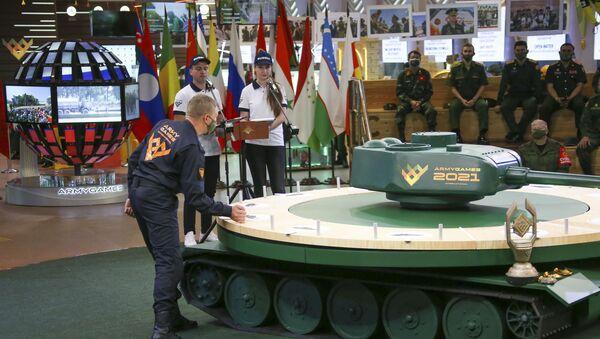 Армейские международные игры–2021  - Sputnik Аҧсны