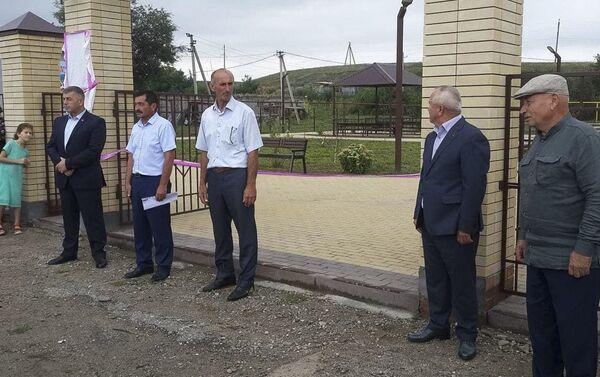 Парк Славы абхазских добровольцев открыли в Карачаево-Черкесии - Sputnik Абхазия