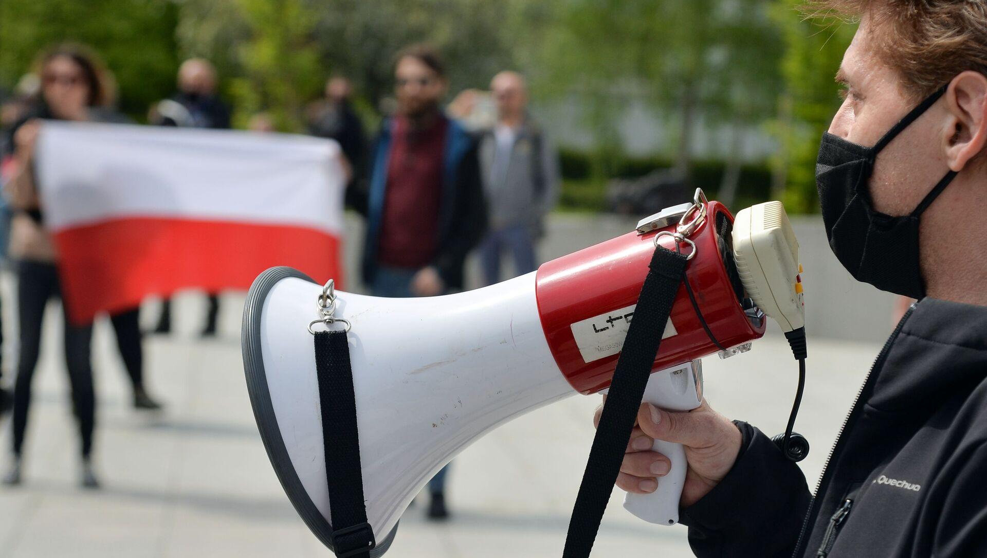 Первомайские демонстрации в Варшаве и Бейруте - Sputnik Абхазия, 1920, 18.08.2021