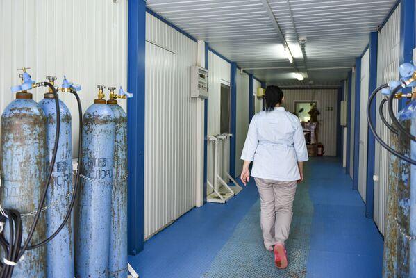 Часть палат будет оборудована кислородным обеспечением. - Sputnik Абхазия