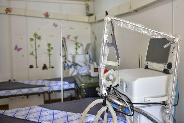 Дата отъезда госпиталя будет зависеть от эпидобстановки в стране.  - Sputnik Абхазия
