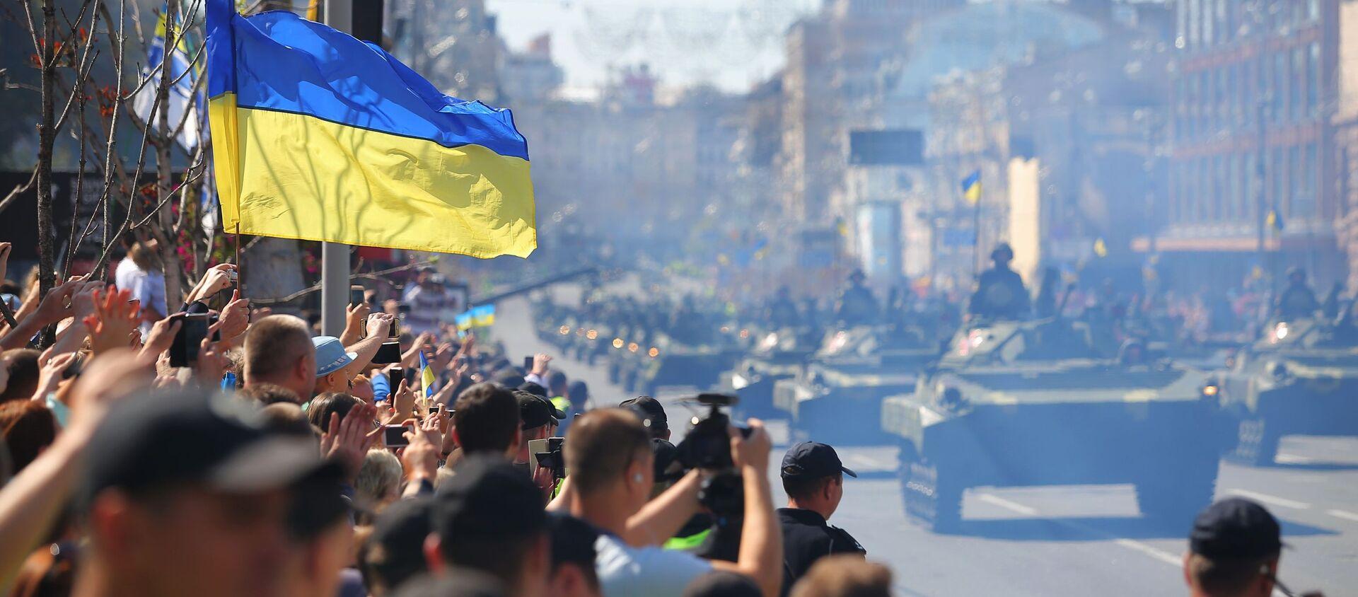 Военный парад в Киеве ко Дню независимости Украины - Sputnik Абхазия, 1920, 18.08.2021