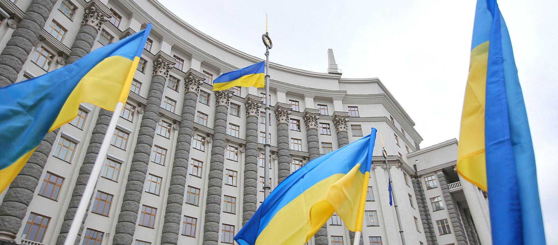 Здание правительства Украины в Киеве. - Sputnik Абхазия, 1920, 20.08.2021