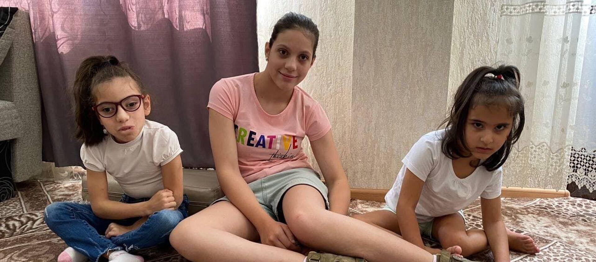 Девочки с диагнозом ДЦП  - Sputnik Абхазия, 1920, 23.08.2021