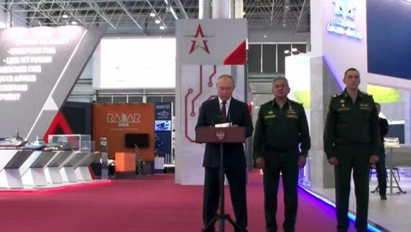 Путин дал старт закладке кораблей и подлодок на форуме Армия-2021 - Sputnik Абхазия