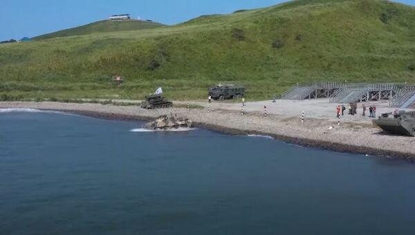 Морской десант: командные эстафеты взводов морской пехоты - Sputnik Абхазия
