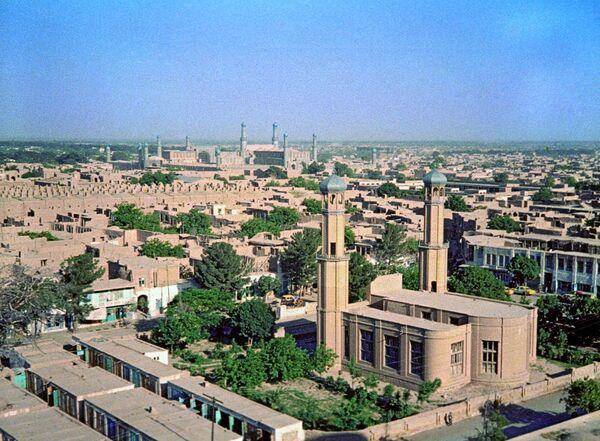 Город Герат, Афганистан. Панорама города. - Sputnik Абхазия