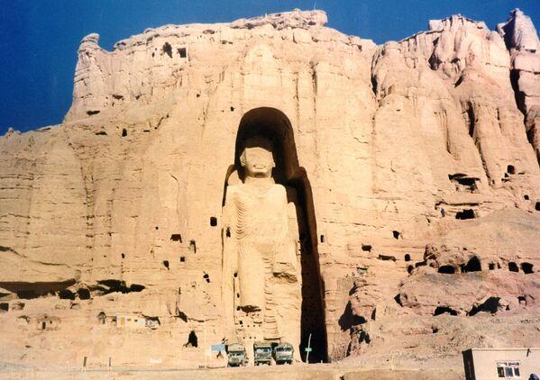 Бамианские статуи Будды, Афганистан, 1997 год. - Sputnik Абхазия