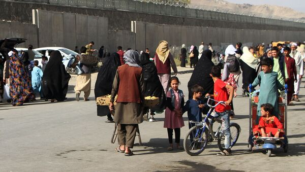 Ситуация у аэропорта Кабула - Sputnik Абхазия