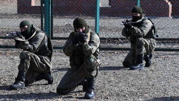 Конкурс Морской десант в Приморском крае - Sputnik Абхазия