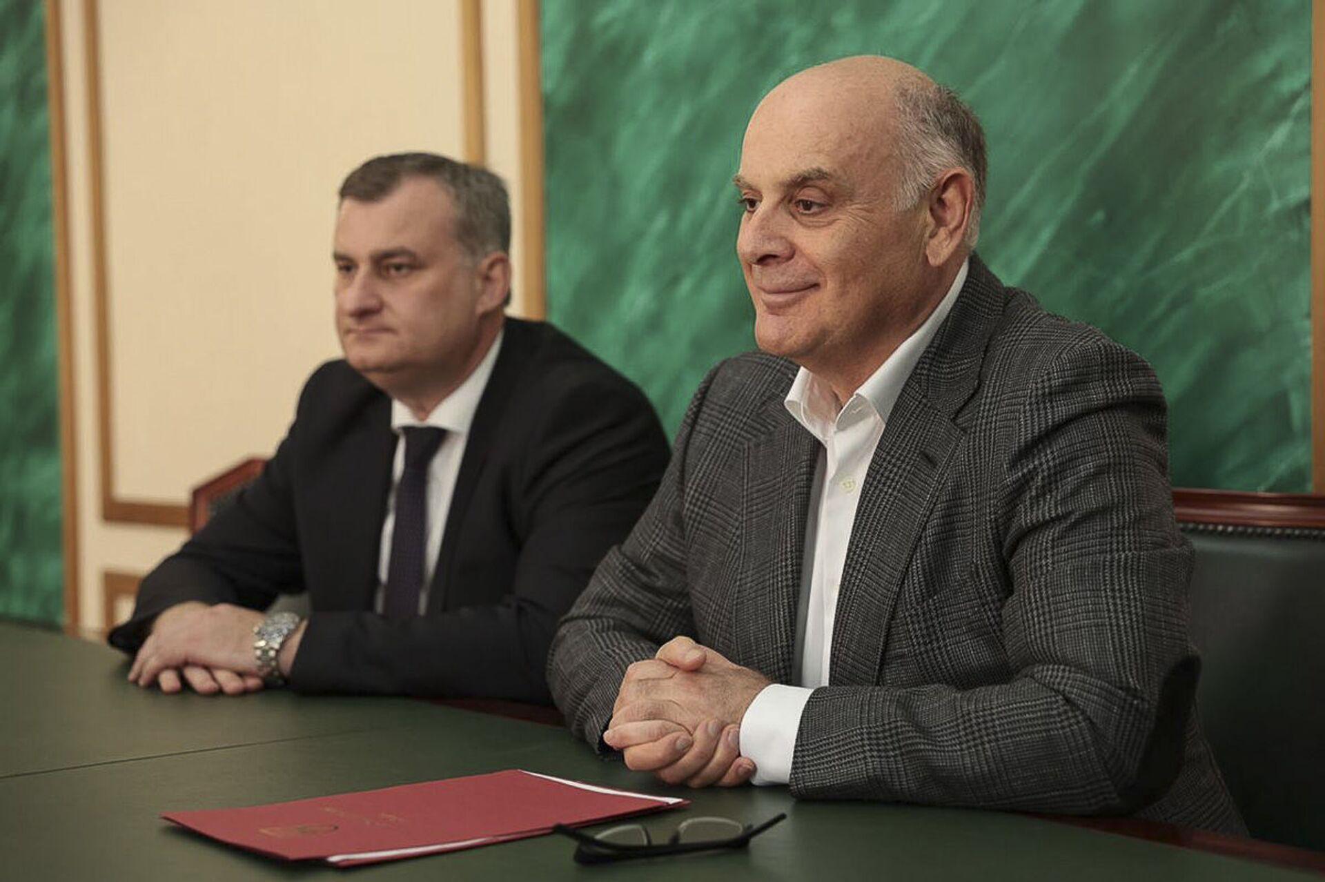 В Абхазию прибыла делегация из Чеченской Республике - Sputnik Абхазия, 1920, 12.10.2021