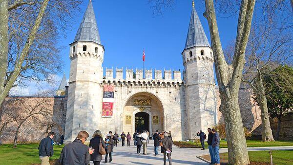 Врата приветствия дворца Топкапы в Стамбуле - Sputnik Абхазия