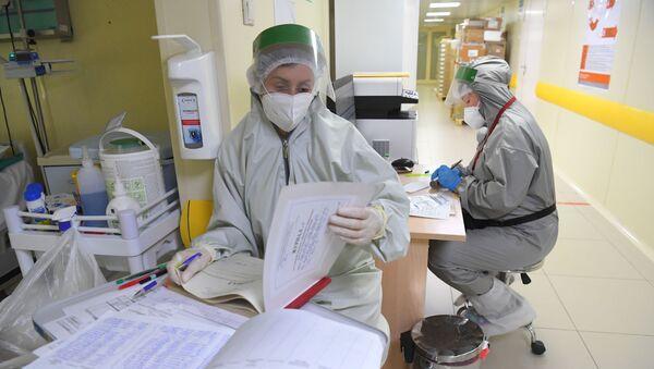Лечение больных с COVID-19 в ГКБ №52 - Sputnik Абхазия
