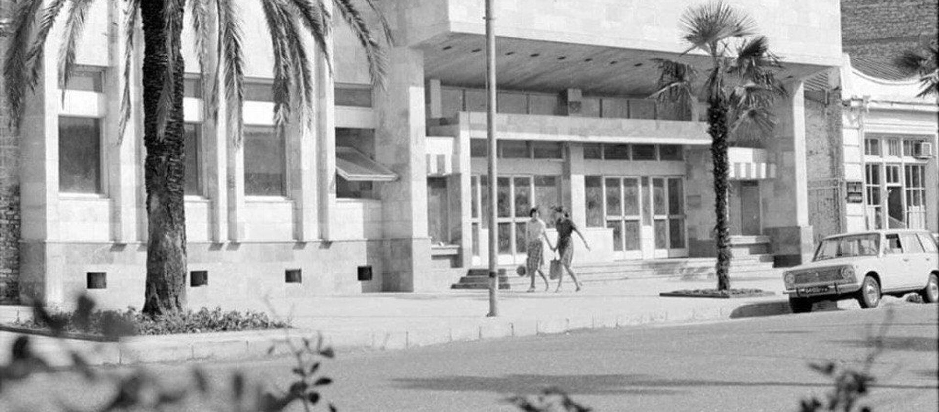 Здание РУСДРАМа до ремонта  - Sputnik Абхазия, 1920, 07.09.2021