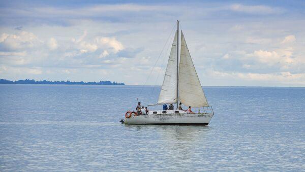 Яхта на море  - Sputnik Абхазия