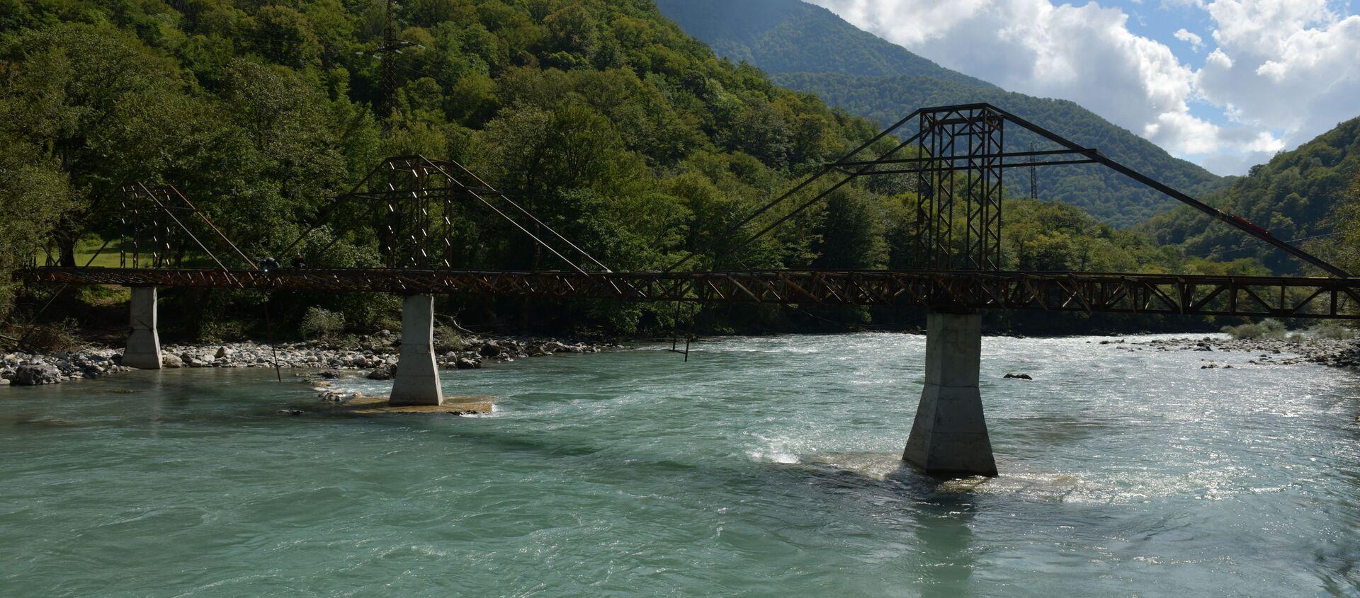 Стеклянный мост  - Sputnik Аҧсны, 1920, 08.09.2021