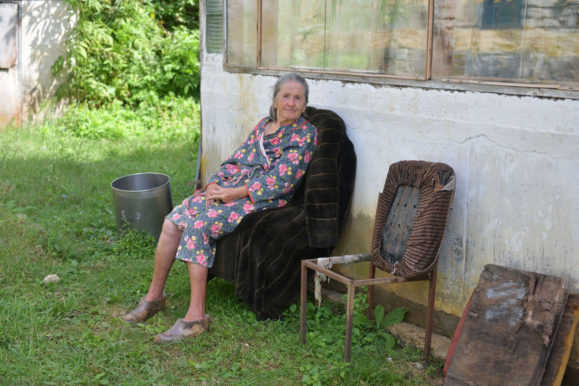 Затопленный дом немца в селе Лыхны Гельмута Пробста - Sputnik Абхазия, 1920, 12.10.2021