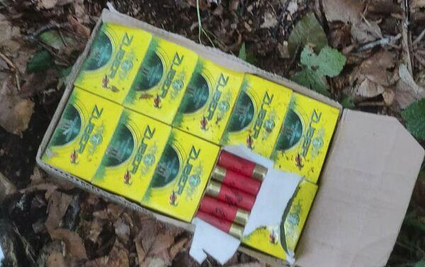 Незаконно перемещенные через государственную границу Абхазии боеприпасы - Sputnik Абхазия