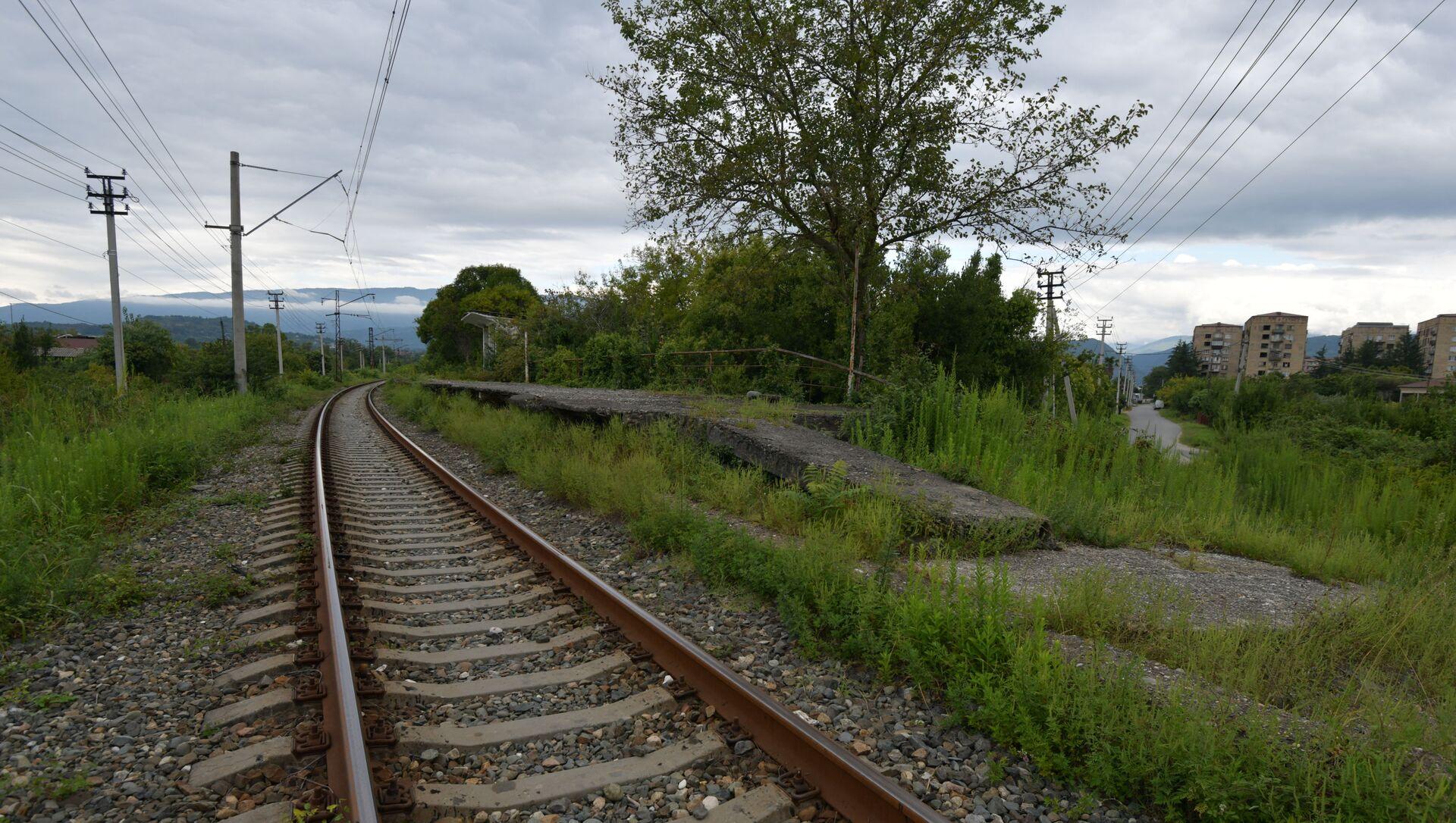 Железнодорожные пути  - Sputnik Аҧсны, 1920, 10.09.2021