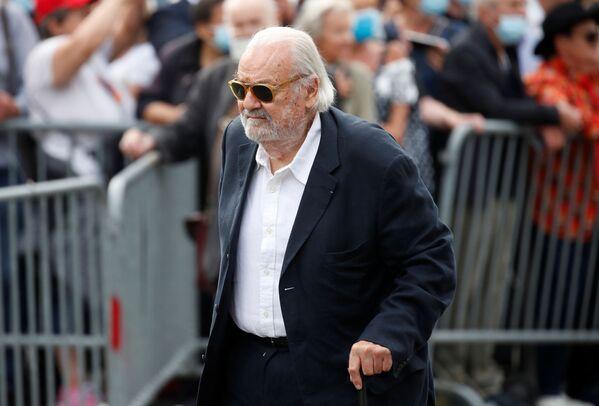 Среди пришедших на похоронную церемонию Жан-Поля Бельмондо был Норбер Саада. - Sputnik Абхазия