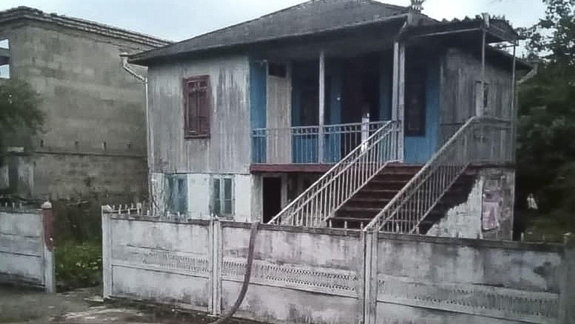 Женщина погибла в результате пожара в частном доме в Очамчыре - Sputnik Аҧсны, 1920, 12.09.2021