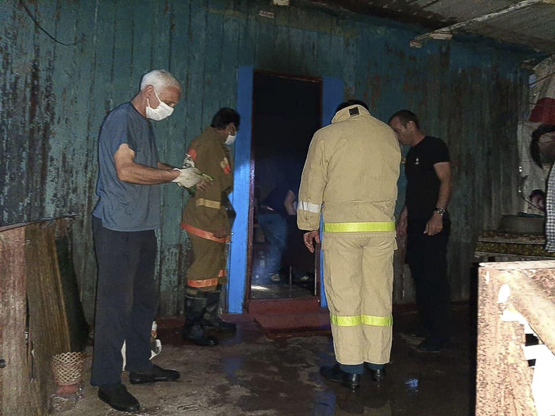 Женщина погибла в результате пожара в частном доме в Очамчыре - Sputnik Аҧсны, 1920, 12.10.2021